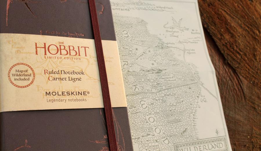 MOLESKINEの限定版「ホビット」ノートブックがAmazonで在庫ありだと~!