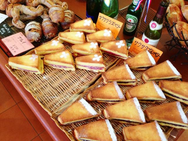 オシャレ装飾がある菓子パン系。