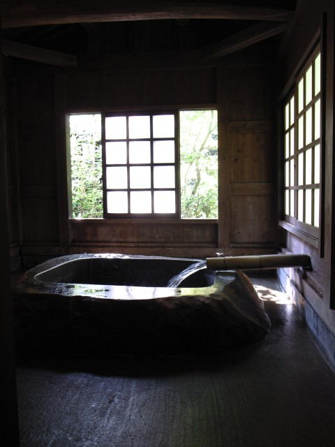 GR Digitalで撮った個室温泉