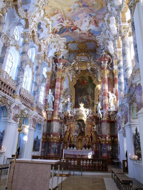 ドイツのヴィース教会