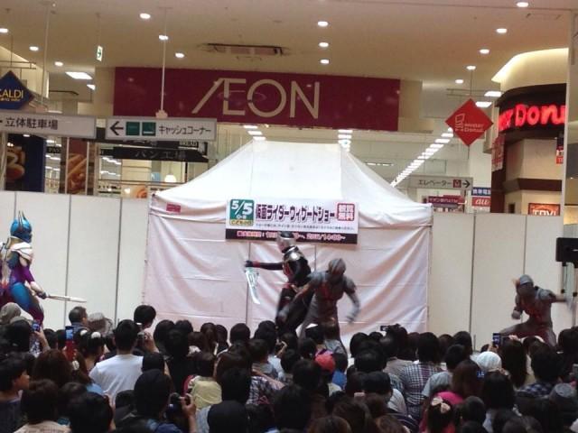 仮面ライダーショー!(写真提供:ぴあ吉)