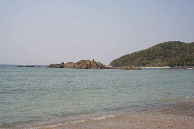 こんな爽やかな海が待ち構えています!