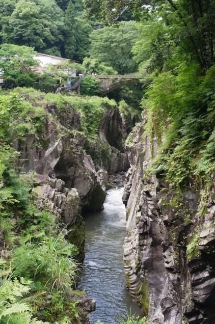 緑と石と水!
