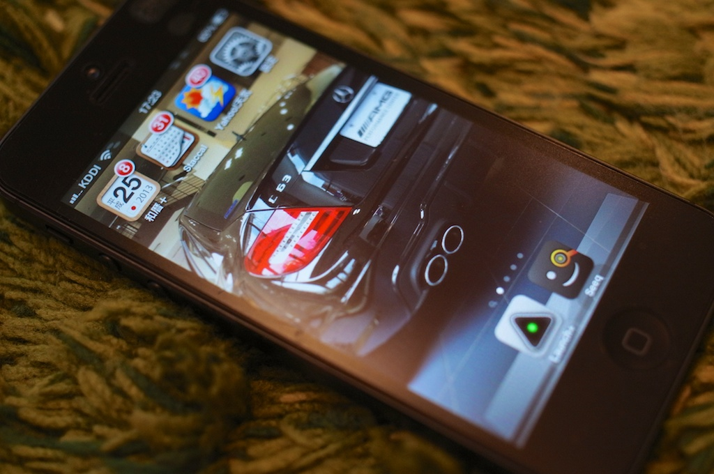 iPhone5のホーム画面を公開!試行錯誤してたどりついたのは「極限にシンプルな構成」だ!