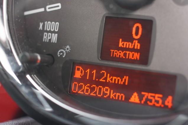 11.2kmの表示!