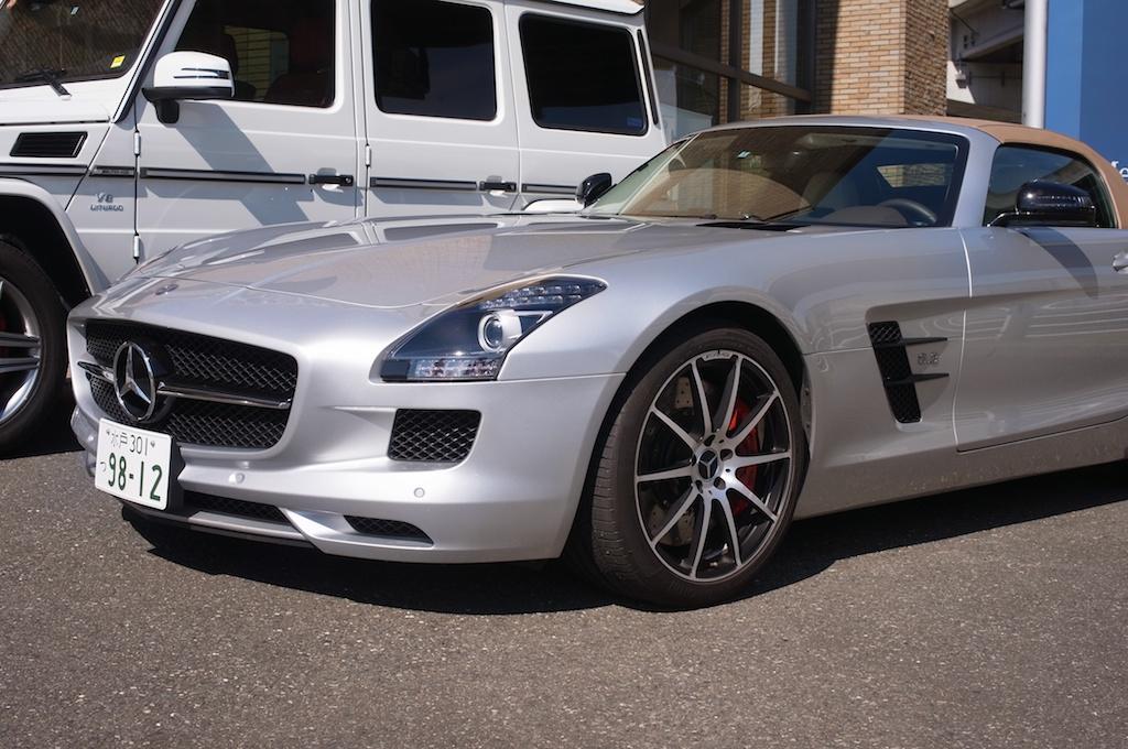 AMGが放つ最強スポーツカーSLS AMG GT Roadster!今年も試乗してきたぞ!AMG Performance Tour 2013