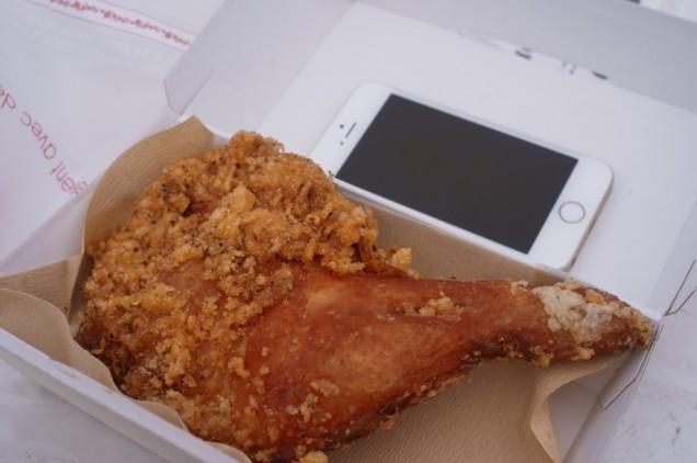 iPhone 5sの大きさから推測してください
