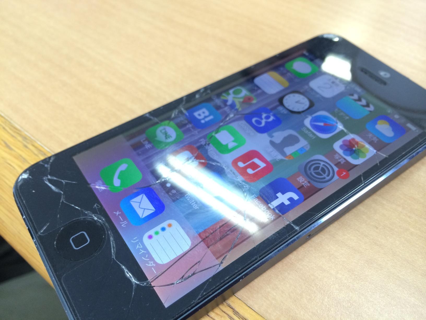 iPhone5のクラッシュを目撃!壊さないために気をつける3つのこと