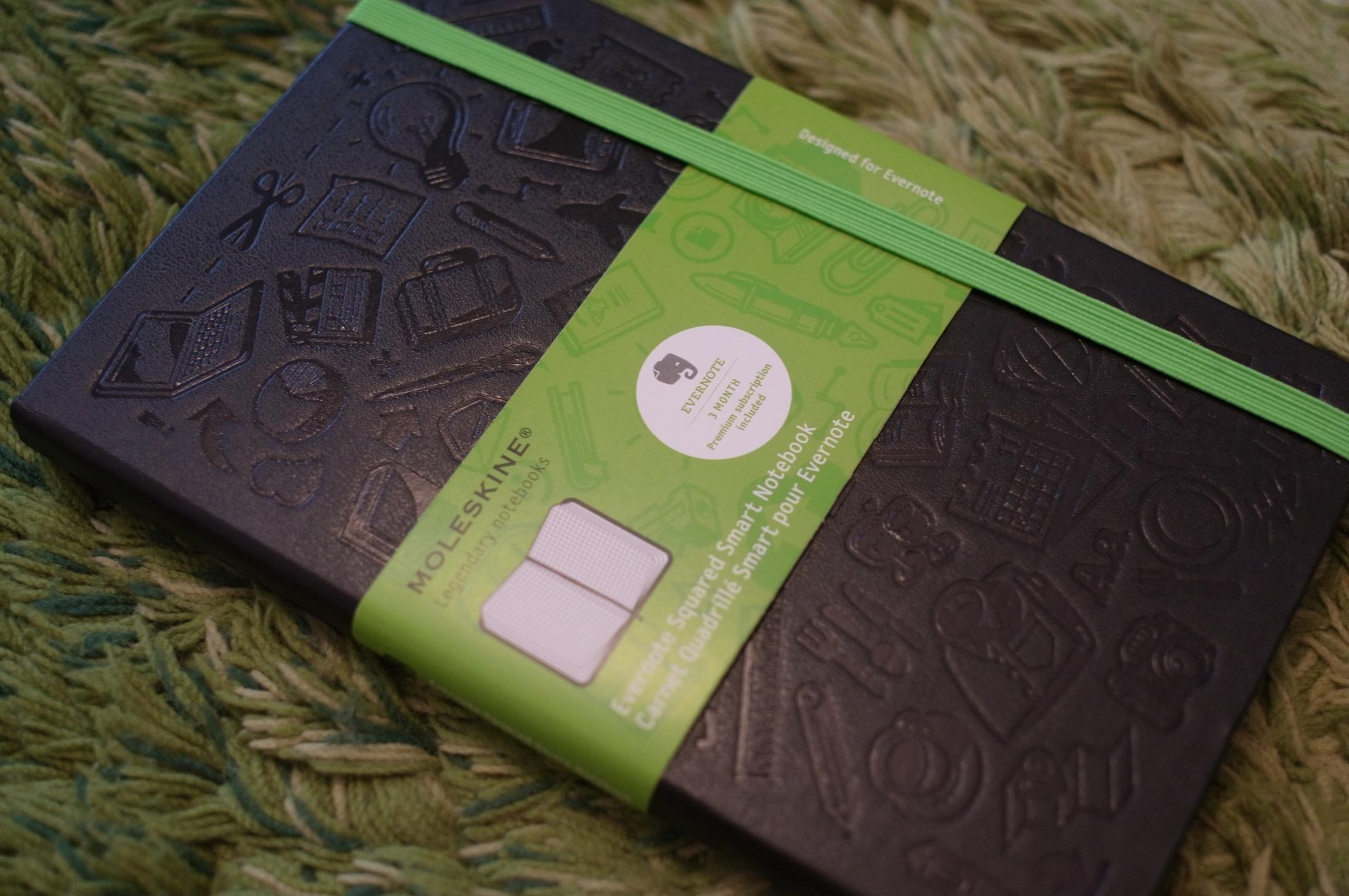 モレスキンEvernote Smart Notebookが値上げに!Amazonの並行輸入版がますますお得!