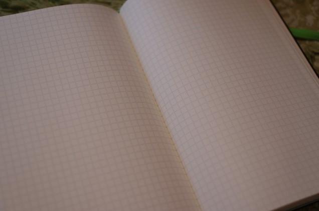 ノートを開いたところ!