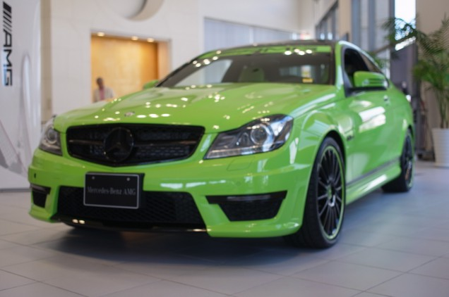 C63 AMG Coupe!