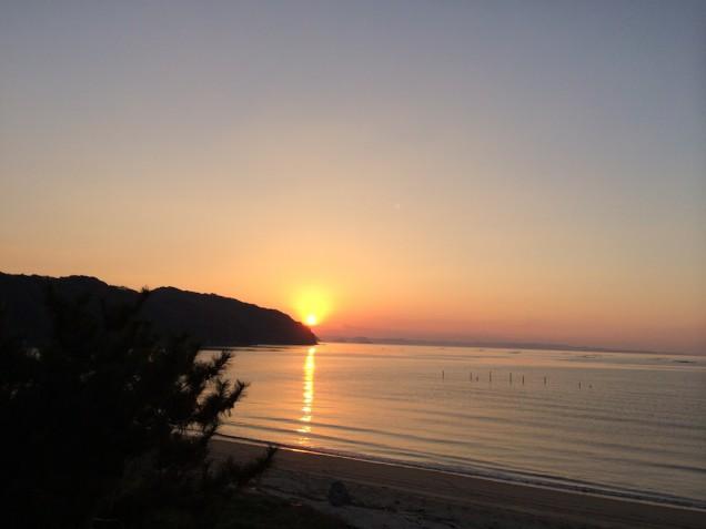 糸島の海と夕日!