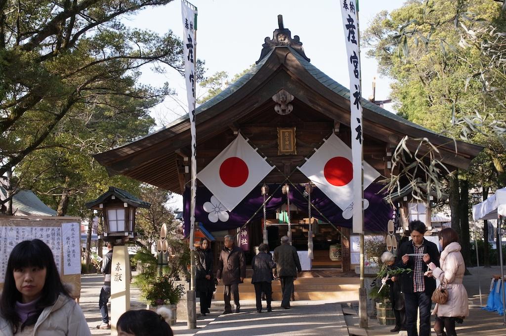【糸島】地元の神社にも行っておこう!産宮神社でお参りをしてきた!