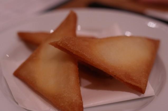 モッツァレラチーズのブリワット!