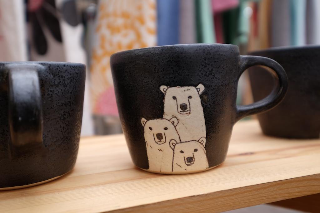 シロクマ親子のカップ!
