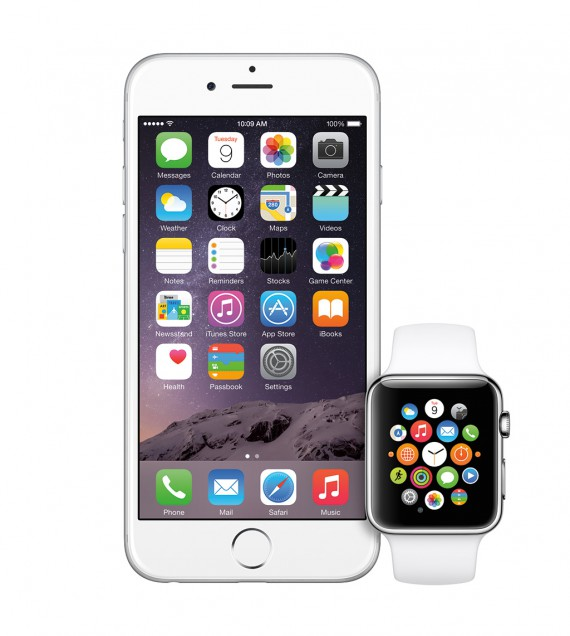 Apple WatchとiPhone 6 Plusの組み合わせ!