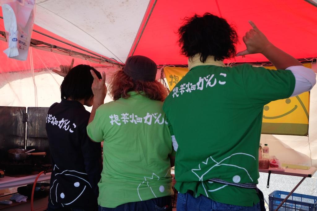 惣菜畑がんこさんの三人組!コンビネーション抜群です!