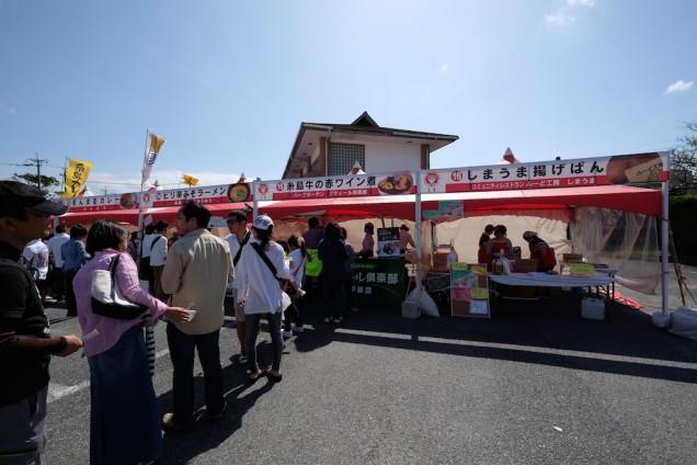 糸島牛の赤ワイン煮は行列!