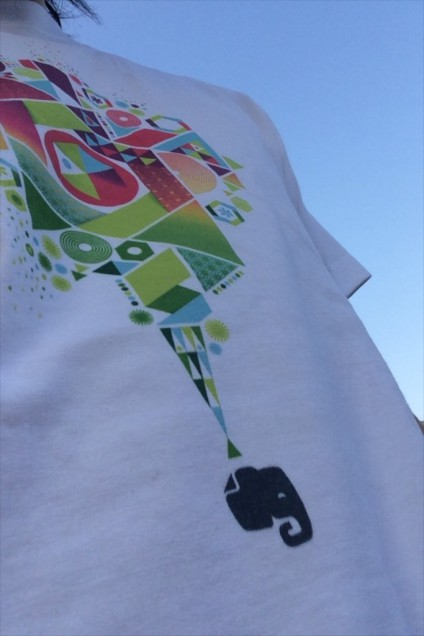 Evernote Days 2014 TOKYOのTシャツいただきました!