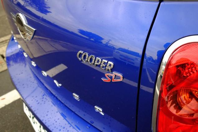 Cooper SDのロゴ!