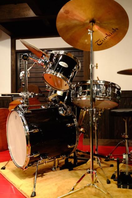 個人的にはドラムを眺めるのが好き