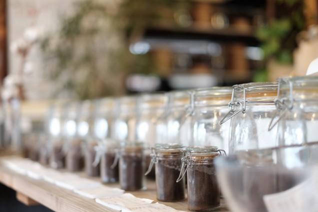 ここでコーヒーを選ぶ時間も好き