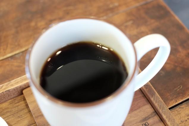 コーヒーからは素晴らしい香りが!