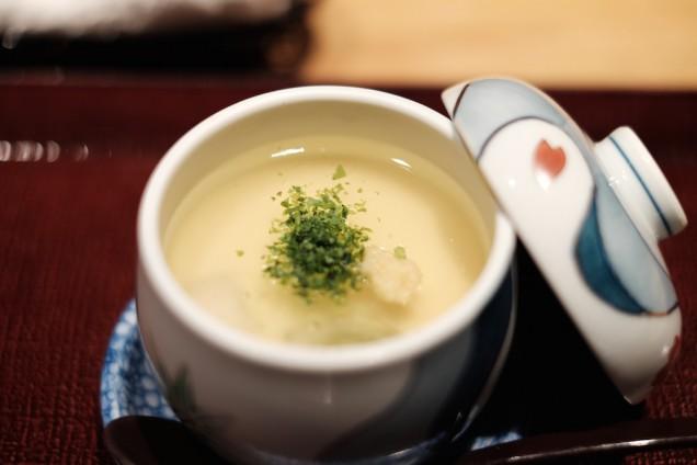 美しい茶碗蒸し!