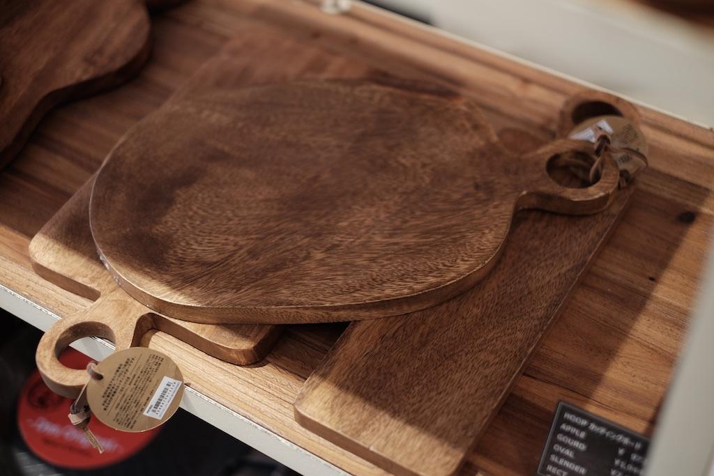 Mon Favori – キッチン用品中心のセレクトショップ!カッティングボードを購入!