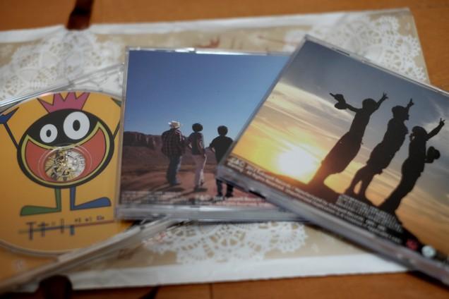 CDの裏面!
