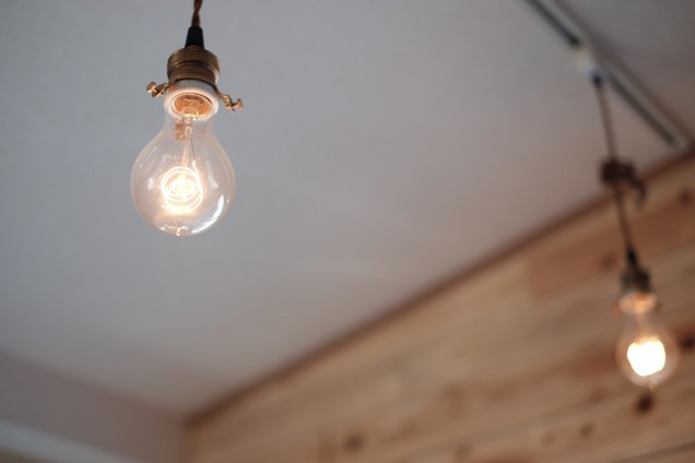 電球さえもオシャレに見える
