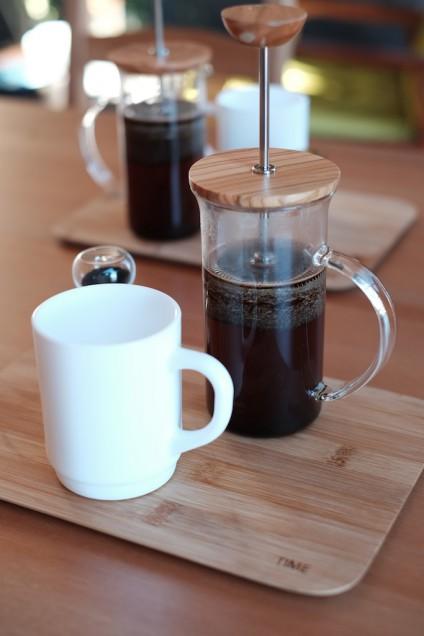 TIMEオリジナルブレンドのコーヒー!