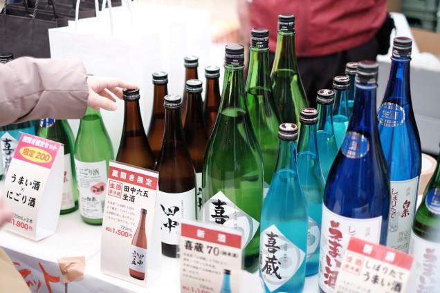 田中六五生酒は、蔵開きの時にしか買えません!
