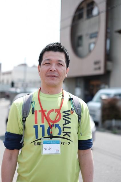 糸島ドライブさんはボランティアで参加!