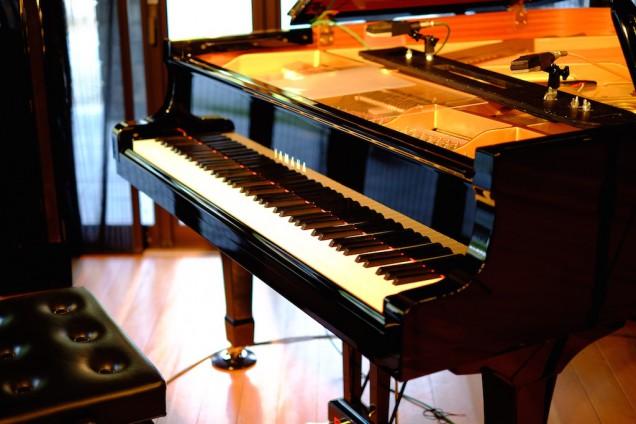 ヤマハのピアノ!