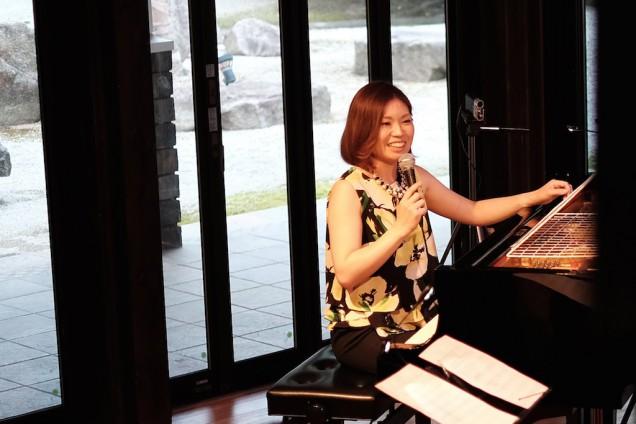 岡本さんのMC後に演奏されたオリジナル曲は最高だった!