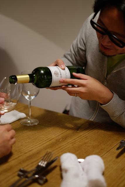 ワインがすすみます!