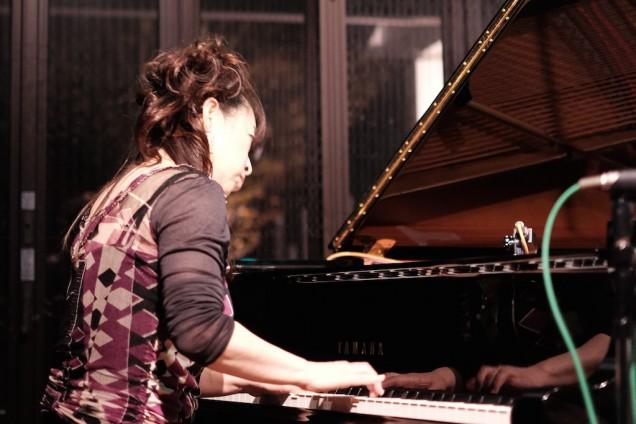 今回はピアノ側からも撮影
