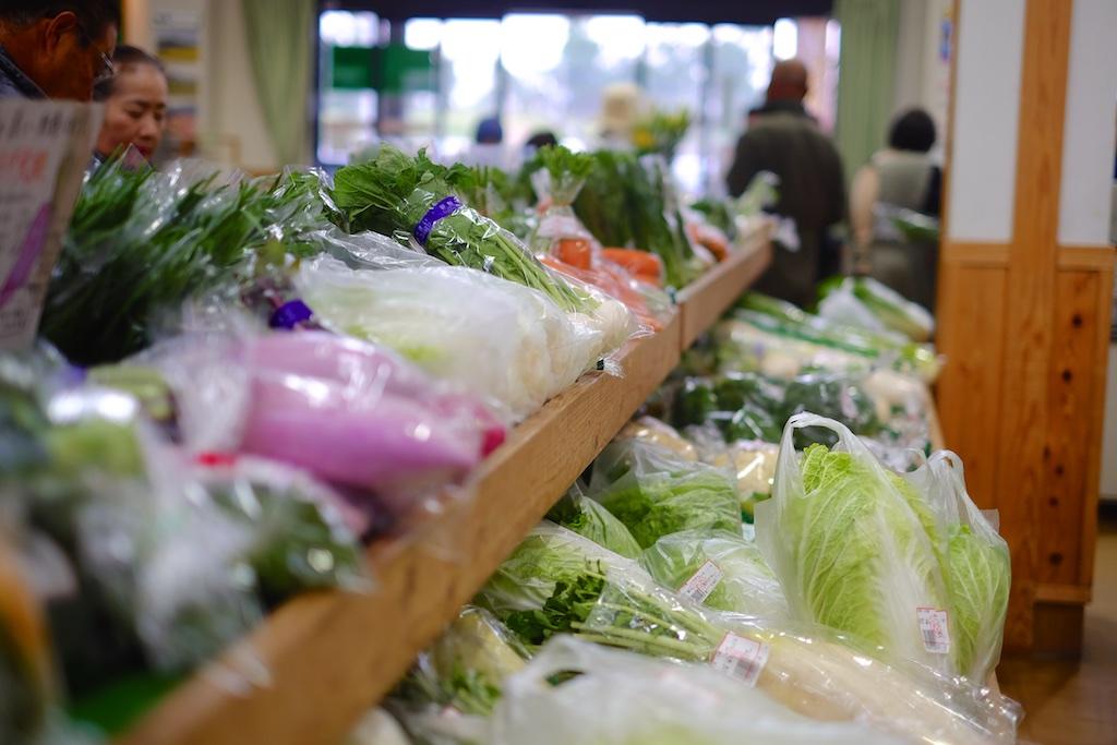 ズラリと並ぶ野菜たち!