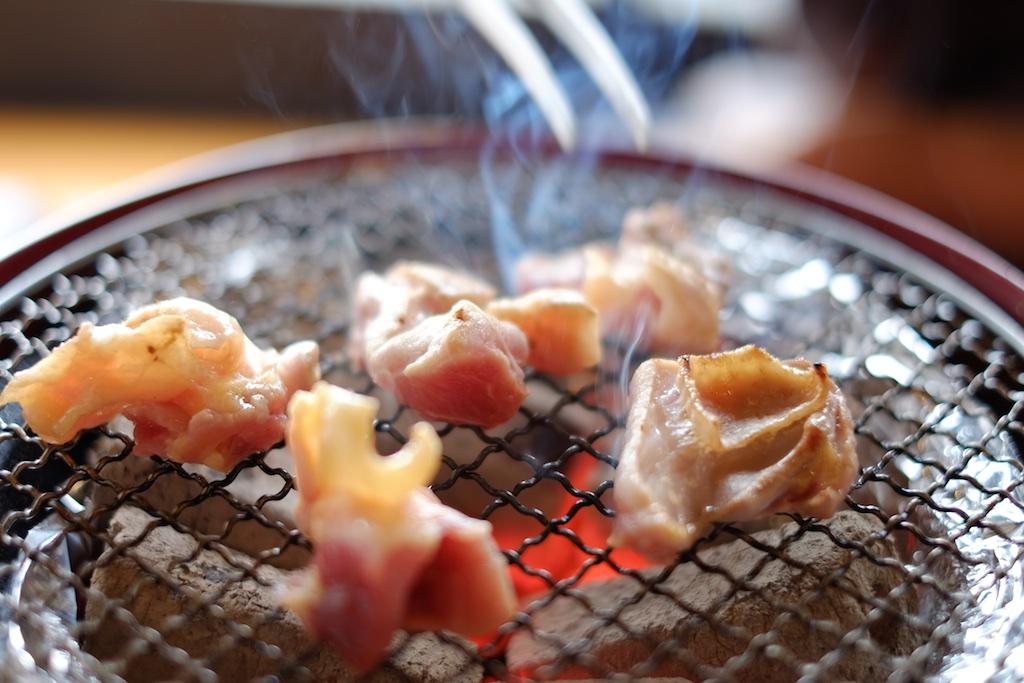 網焼きダイニングはな鳥 – 宮崎地鶏を炭火焼で堪能!