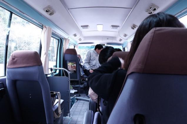 小さなバスです