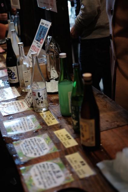 濱地酒造で日本酒を試飲!