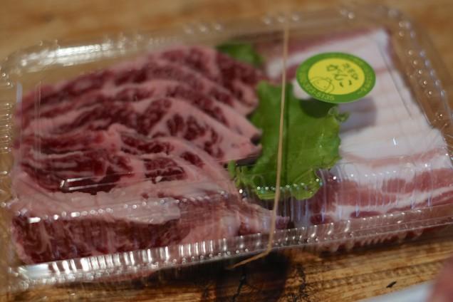肉は惣菜畑がんこさんから配達されてきました!