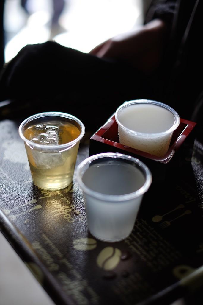 3種のお酒をいただきました!