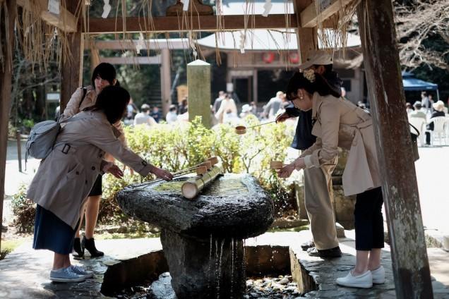 櫻井神社の張り詰めた空気感がいい!