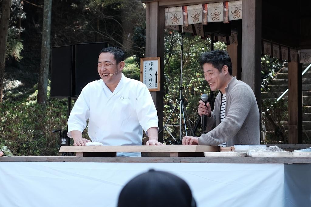 さくらいとしまつり – 「日本料理 一凛」橋本シェフが糸島でクッキングライブ!