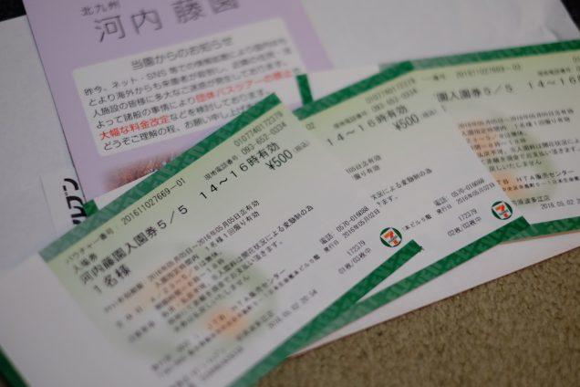 こんなチケットが発券されます