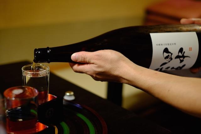 日本酒にスイッチ