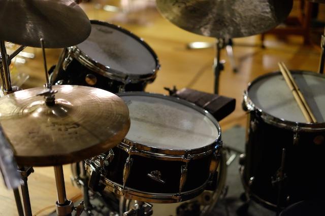 出番前のドラム