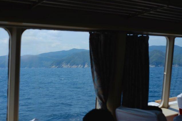 窓側は素晴らしい海を眺めながら船旅を楽しめます!